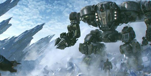Дебютный трейлер Lost Planet 3 и схватка с ледяным крабом