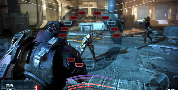 Система HUD в Mass Effect 3