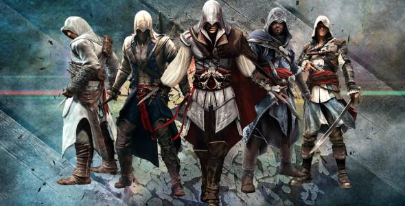Assassin's Creed самая популярная консольная игра