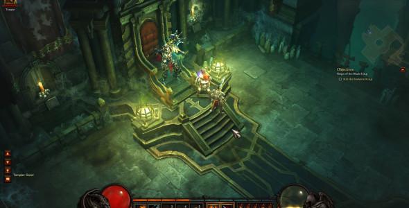 Игровое видео Diablo 3 Beta