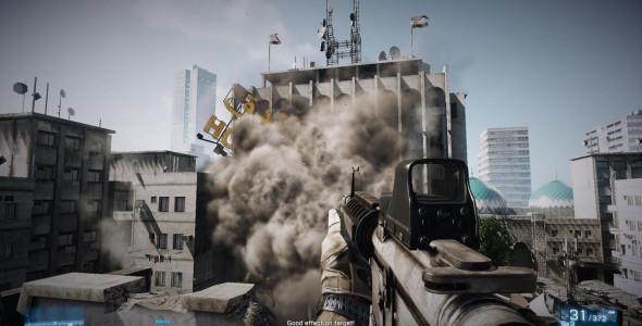 Технология разрушений в Battlefield 3 будет на высшем уровне