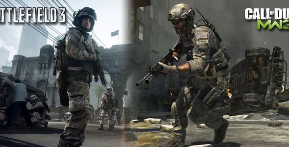 Battlefield 3 против Modern Warfare 3