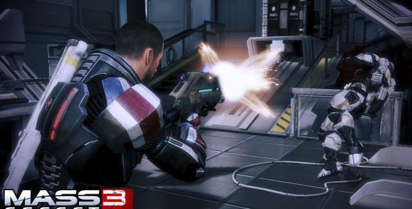 Первые скриншоты Mass Effect 3