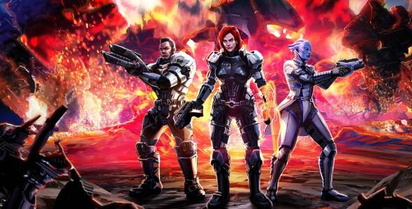 Мультиплеер в Mass Effect 3
