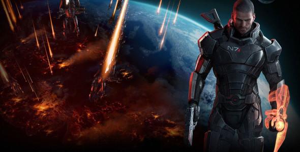 В новом Mass Effect 3 поле боя — Земля