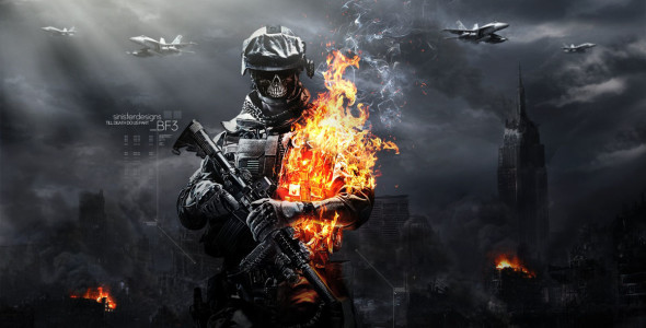 Battlefield 3 не будет клоном Modern Warfare