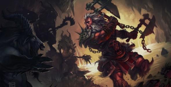 Арт обзор Diablo: Варвары на День благодарения