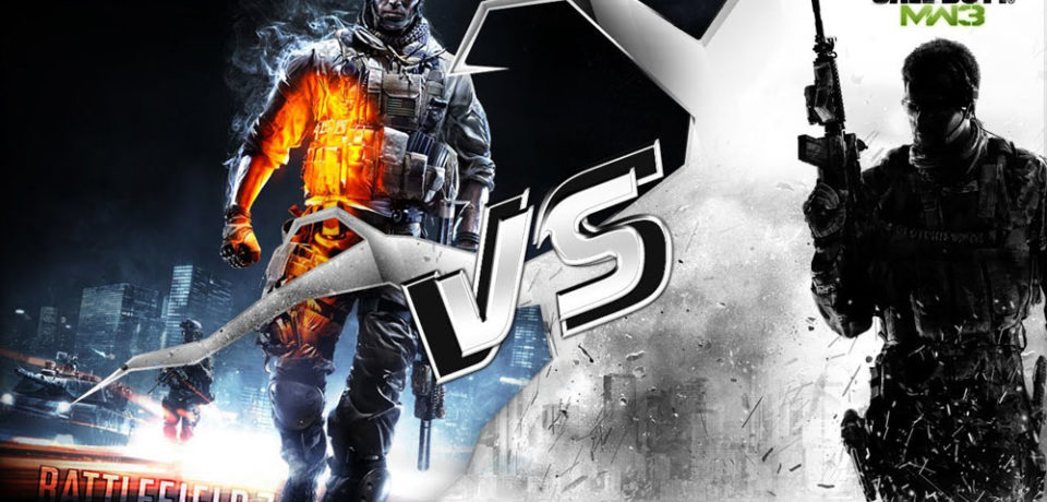 Битва года: Battlefield 3 против Modern Warfare 3