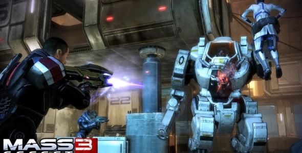 Новые кибермашины в Mass Effect 3