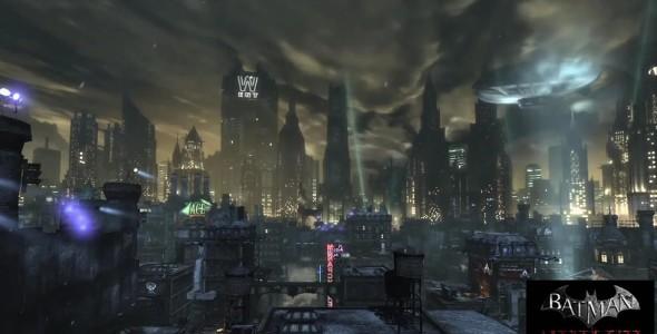 Arkham City невероятно красив в своей мрачности