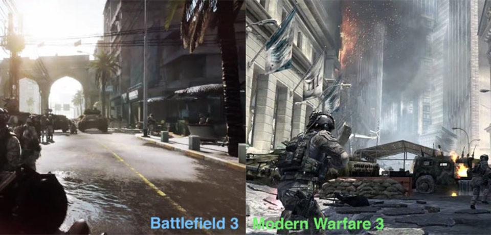 Гипер-конкуренция Battlefield 3 и Modern Warfare 3