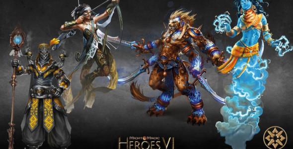 Боевые единицы некоторых фракций Heroes 6