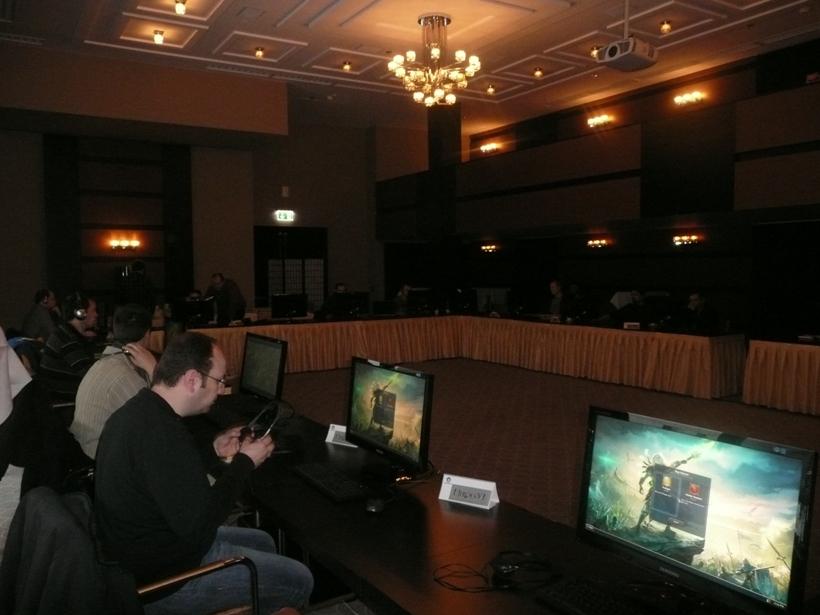 Команда Blackhole на презентации Герои 6 в Будапеште!