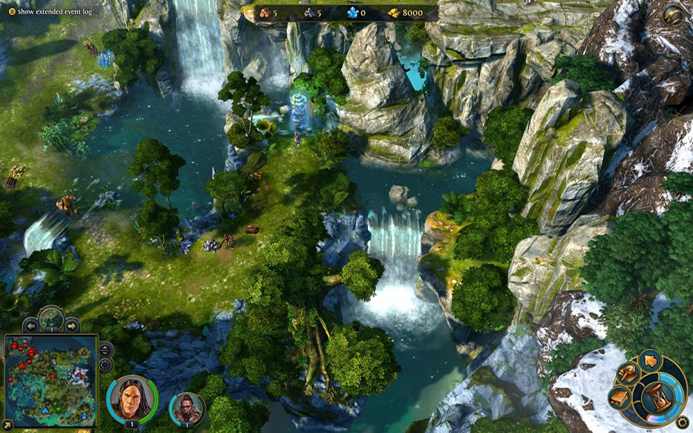 Новые скриншоты Герои 6