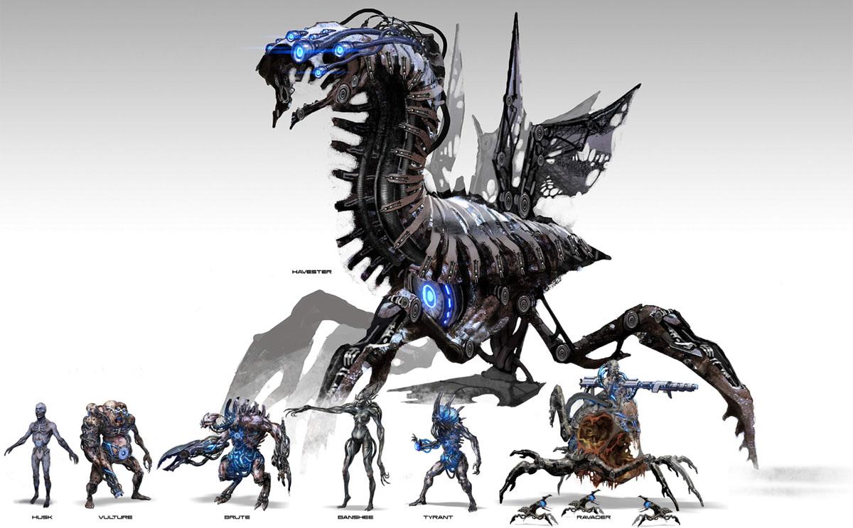 Враги в Mass Effect 3